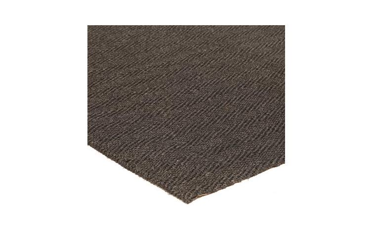 Natural Sisal Rug Herring Bone Charcoal 270x180cm