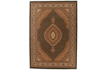 Stunning Formal Oriental Design Rug Green
