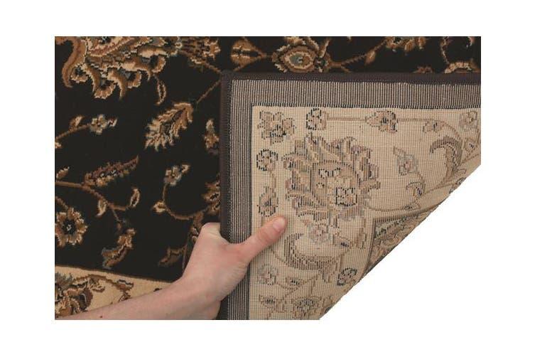 Stunning Formal Floral Design Rug Brown 230x160cm