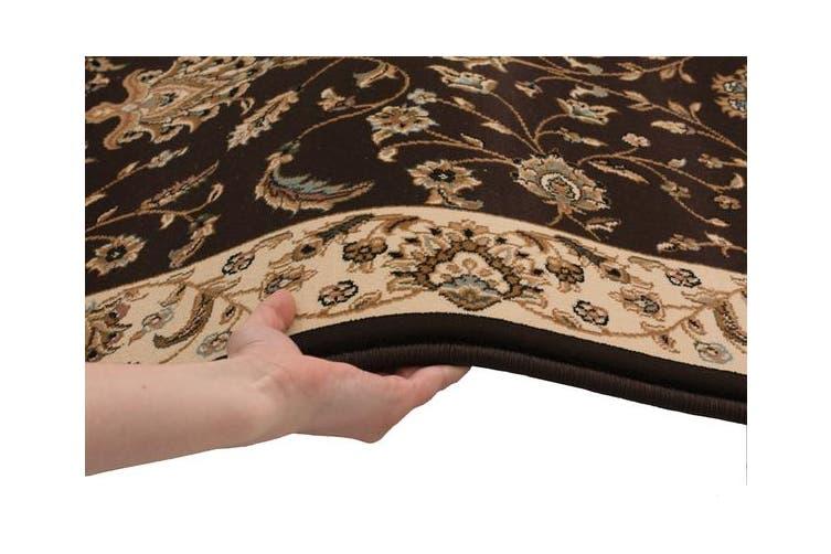 Stunning Formal Classic Design Rug Brown 230x160cm