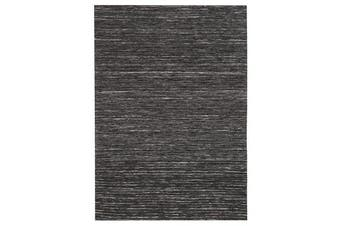 Eliza Stunning Flat Woven Rug Charcoal 225x155cm