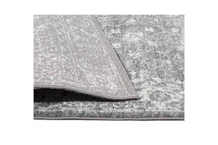 Pidgeon Grey Transitional Rug 300x80cm