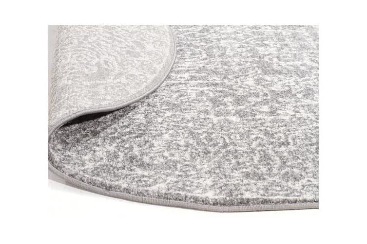 Homage Grey Transitional Rug 240x240cm