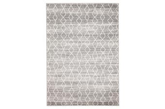 Remy Silver Transitional Rug 230x160cm