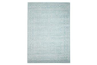 Depth Blue Transitional Rug 400x300cm