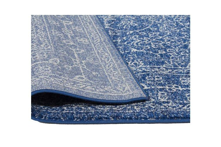 Artist Navy Transitional Rug 300x80cm