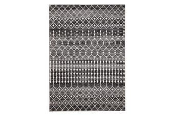 Simplicity Black Transitional Rug 330x240cm