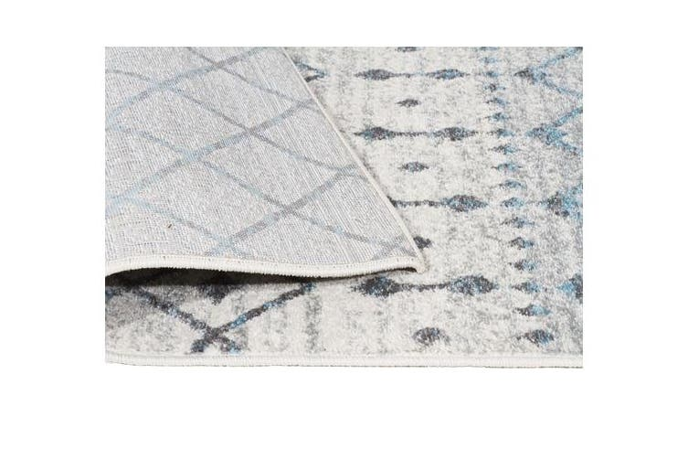 Slate White Transitional Rug 400x300cm