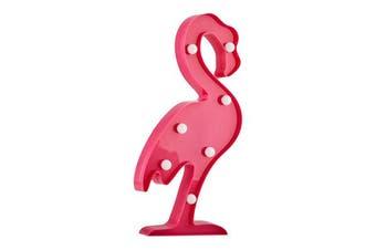 Milano Battery Powered Flamingo Night Light
