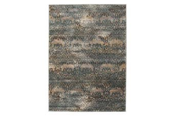 Hanna Lace Rug Blue Natural 290x200cm
