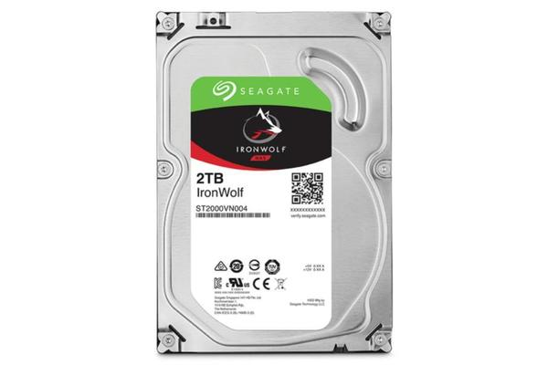 Seagate 2TB IronWolf NAS 3.5' 5900RPM SATA3 6Gb/s 64MB HDD. 3 Years Warranty