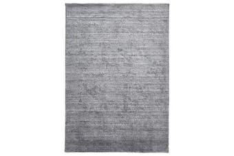 Manhattan Stylish Hand Made Rug Dark Grey