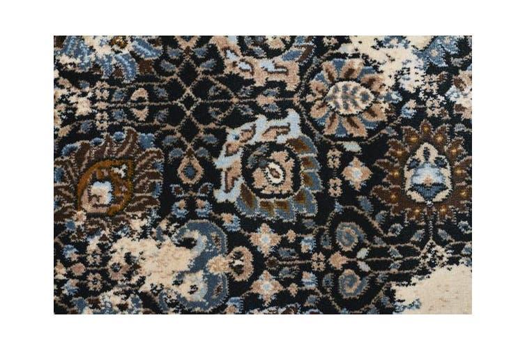 Rembrandt Designer Rug Ivory Blue 400x80cm