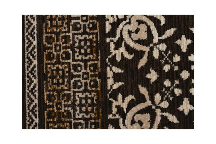 Urban Tribe Designer Rug Brown 230X160cm