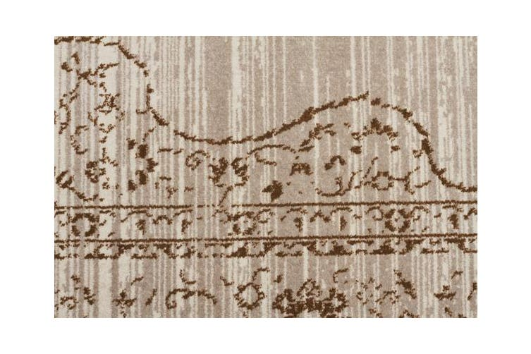 Kings Court Designer Rug Ivory Beige 500X80cm