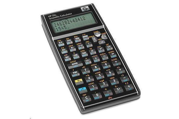"""HP F2215AA 35s Scientific Calculator 100 Functions - 14 Digit(s) - LCD - Battery Powered - 0.7"""""""" x"""