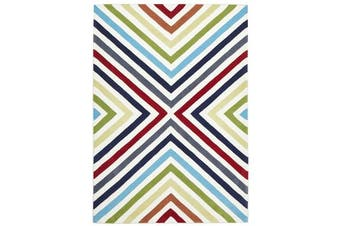 Cross Roads Design Rug Multi 165x115cm