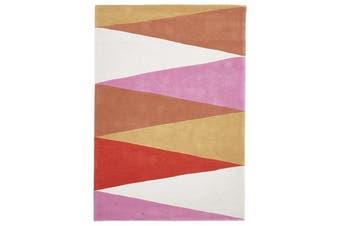 Cascade Modern Rug Rust Pink 225x155cm