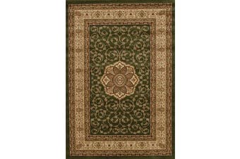 Medallion Classic Pattern Rug Green