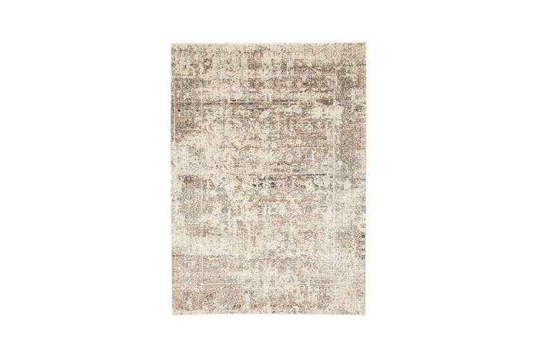 Fluid Dawn Modern Grey Rug 230x160cm