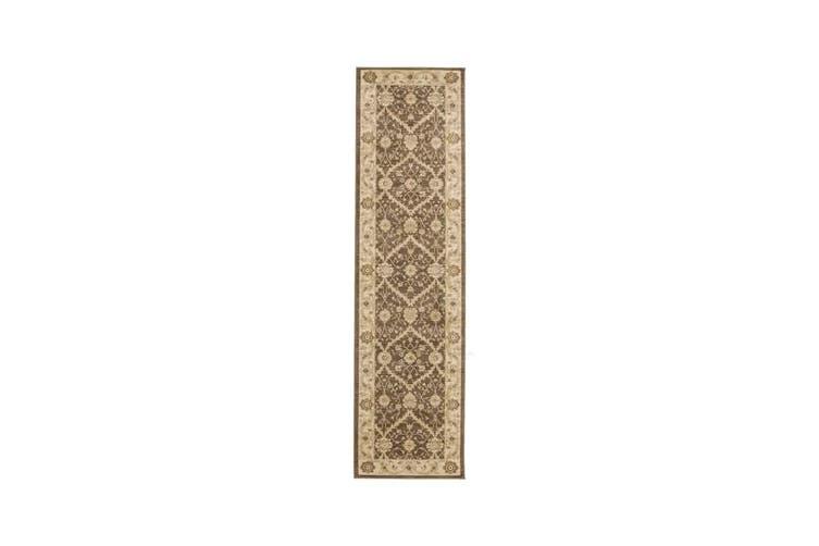 Chobi Design Rug Brown Bone 400x80cm