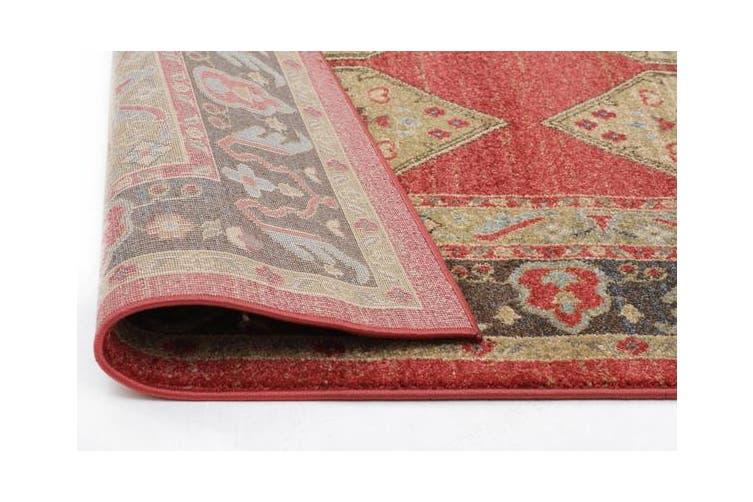 Shiraz Design Rug Red 330x240cm
