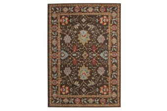 Nain Persian Design Rug Brown Red 400x300cm
