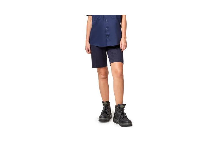 King Gee Women's Casual Chino Short (Navy , Size 12)