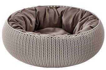 Curver Cozy Pet Bed (Beige)