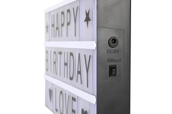 Letter Light Box