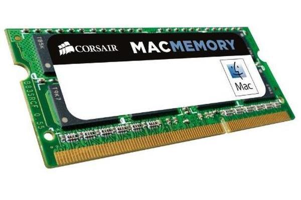 Corsair 4GB (1x4GB) DDR3 1066 SODIMM 1.5V Memory for MAC