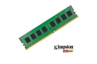 Kingston 4GB (1x4GB) DDR4 UDIMM 2400MHz CL17 1.2V Unbuffered ValueRAM Single Stick Desktop Memory ~KVR24N17S8/4