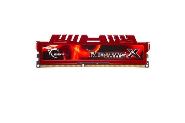 G.SKILL Ripjaws X 8GB(1X8G) Gaming DDR3 1600MHz (PC3 12800) Desktop Memory 240-Pin DDR3 SDRAM Model