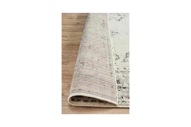 Felicia Silver & Grey Soft Rug 230x160cm