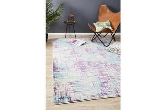 Felicia Blue & Purple Soft Bohemian Rug 330x240cm
