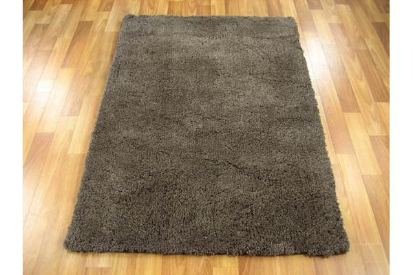 View more of the Texture Shag Rug Dark Brown 220x150cm