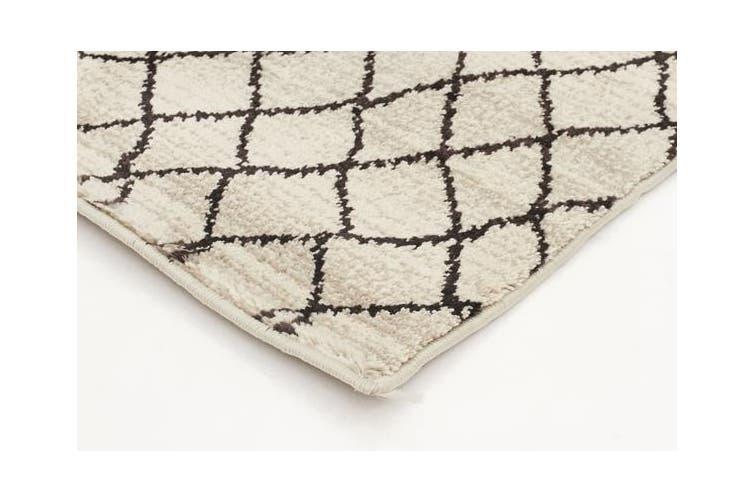 Morrocan Web Design Rug Cream 230x160cm