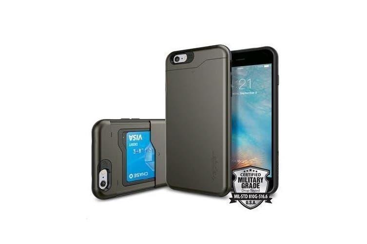 """Spigen iPhone 6s/6 (4.7"""") Slim Armor CS Case-Gunmetal"""