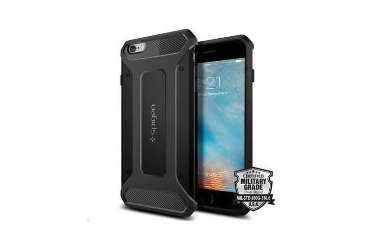"Spigen iPhone 6s Plus (5.5"") Rugged Armor Case-Black"