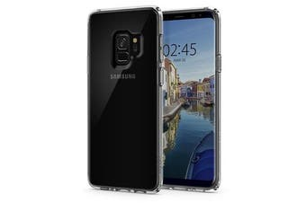 Spigen Galaxy S9 Ultra Hybrid Case Crystal Clear