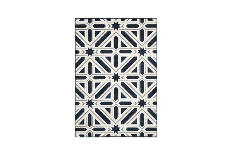 Indoor Outdoor Xenia Rug Navy 330x240cm