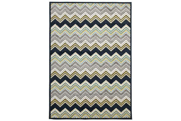 View more of the Indoor Outdoor Chevron Rug Navy 230x160cm