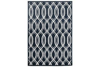 Indoor Outdoor Lucid Rug Navy 290x200cm