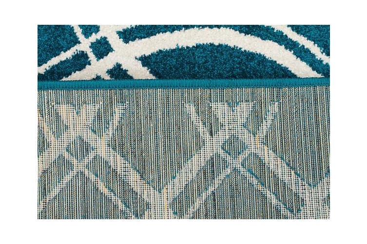 Indoor Outdoor Lucid Rug Peacock Blue 290x200cm