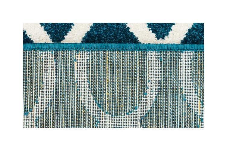Indoor Outdoor Neo Rug Peacock Blue 290x200cm
