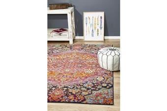 Hazel Pink & Multi Durable Kaleidoscope Rug