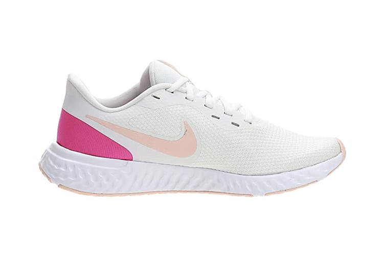 Nike Women's Revolution 5 Running Shoes (Summit White/Fire Pink/Washed  Coral, Size 5 US) - Kogan.com