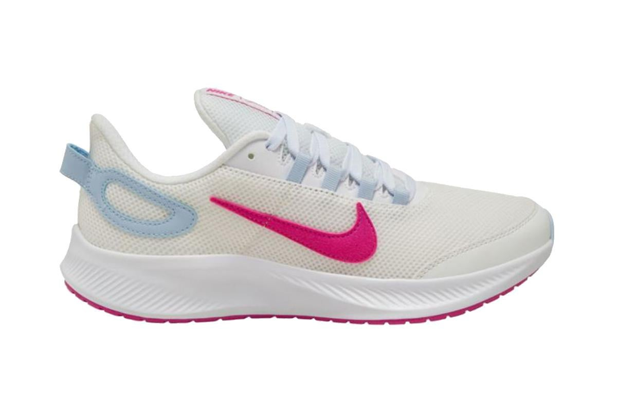 Running Shoes (White/Pink/Blue