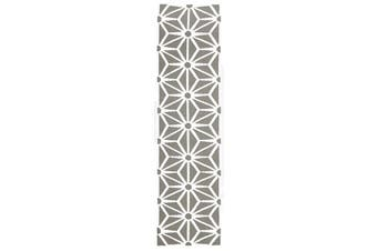 Dandelion Flat Weave Rug Grey 300x80cm
