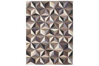 Dimensions Flat Weave Rug Grey 280x190cm
